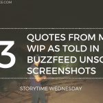 quotes from my wip as told in buzzfeed unsolved screenshoTs 2020 SW Header - Hollow City (Graphic Novel) by Ransom Riggs | Spoiler-Free Book Review