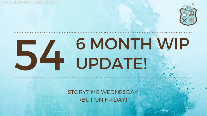 6 Month Writing Update CampNaNoWriMo 2020 SW Header - 6 Month Writing Update, CampNaNo Wrap-Up & Writer's Block (SW#54)
