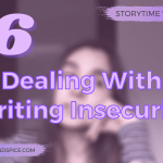 Dealing With Writing Insecurity 2020 SW Header - This One Is Ours by Kate O'Donnell | Spoiler Free Book Review Book Tour!