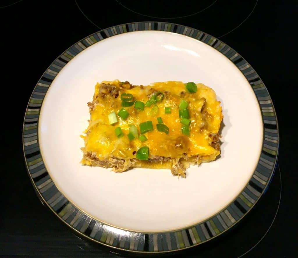 Cheesy Sausage and Veggie Casserole