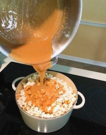caramel popcorn balls recipe
