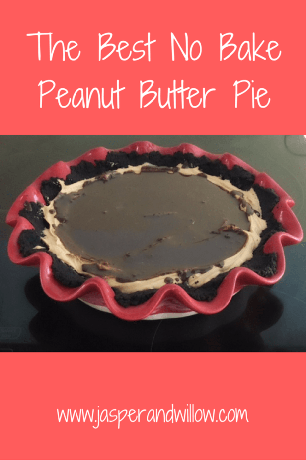 The Best No Bake Peanut Butter Pie