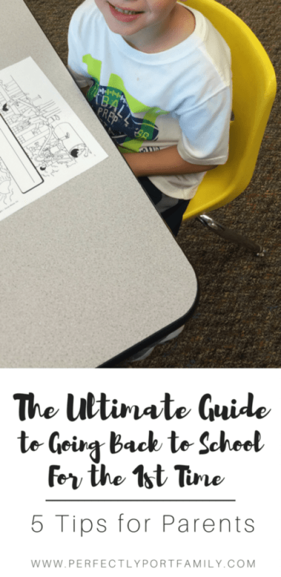 The Ultimate Guide to Going Back To School