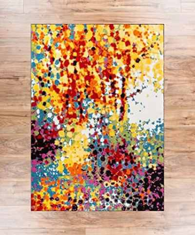 The Best Playroom Decor Finds On Amazon - modern abstract rug