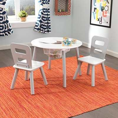 The Best Playroom Decor Finds On Amazon - kids table and chairs in playroom