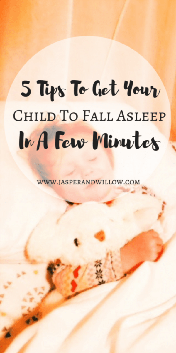 5 Tips To Get Your Child To Fall Asleep In A Few Minutes