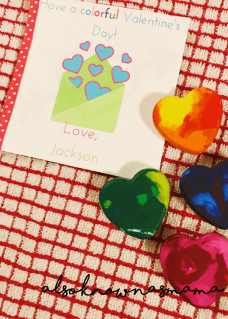 valentine's day ideas homemade crayon hearts