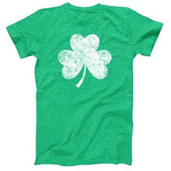 St Patrick's Day Shamrock Men's Tee