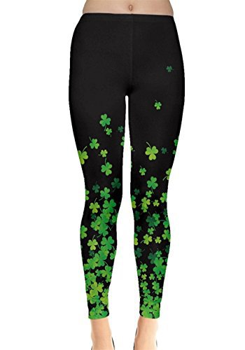 St Patrick's Day Shamrock Leggings