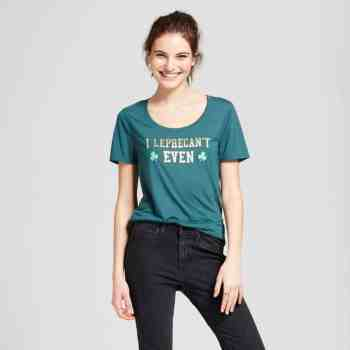 St Patrick's Day I Leprecan't Even Tee