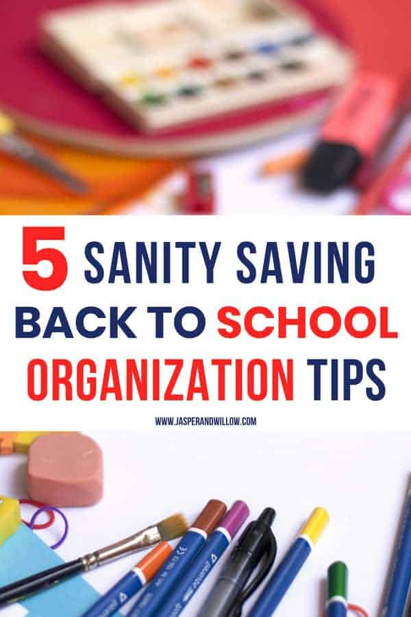 easy back to school tips for parents