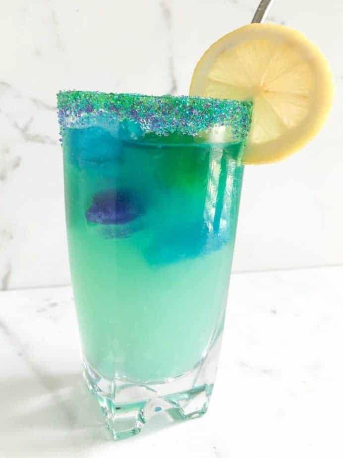 How To Make Magical Mermaid Lemonade Easy Colorful Mocktail