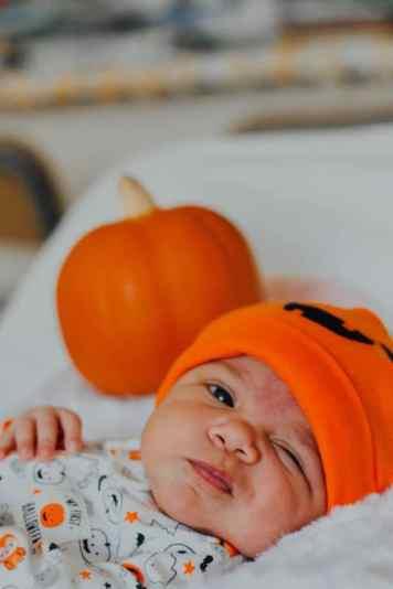baby halloween costume ideas baby with pumpkin