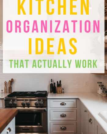 kitchen organization ideas that actually work