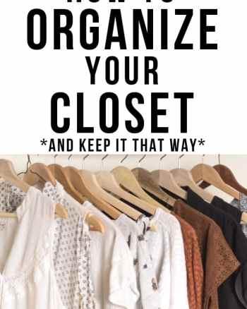 small closet organization - how to organize your closet