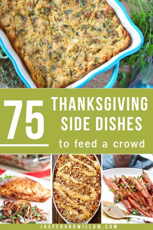 thanksgiving side dish recipes to feed a crowd