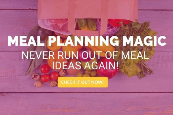 how to meal plan with meal planning magic