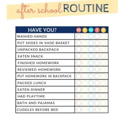graphic relating to After School Schedule Printable identified as The moment College or university Agenda Chart - Printable and Editable