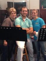 Tracie, Cody, and Shawna