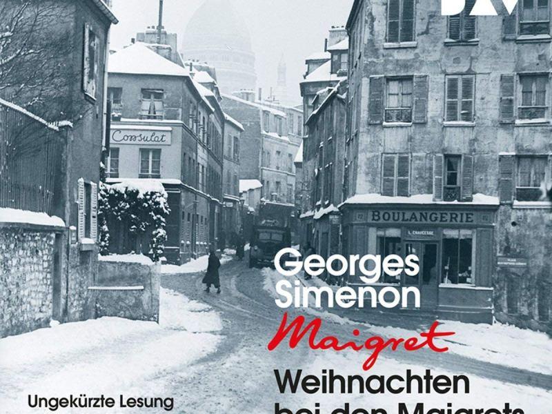 Hörbuch: Weihnachten bei den Maigrets