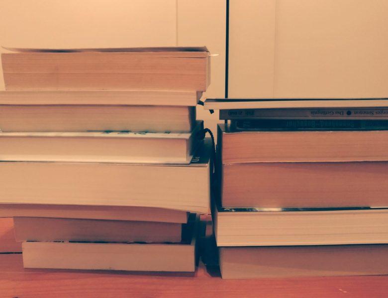 Altlasten fürs neue Jahr: mein Bücher-SuB