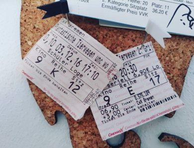 Kinoerlebnisse – #Kinoliebe