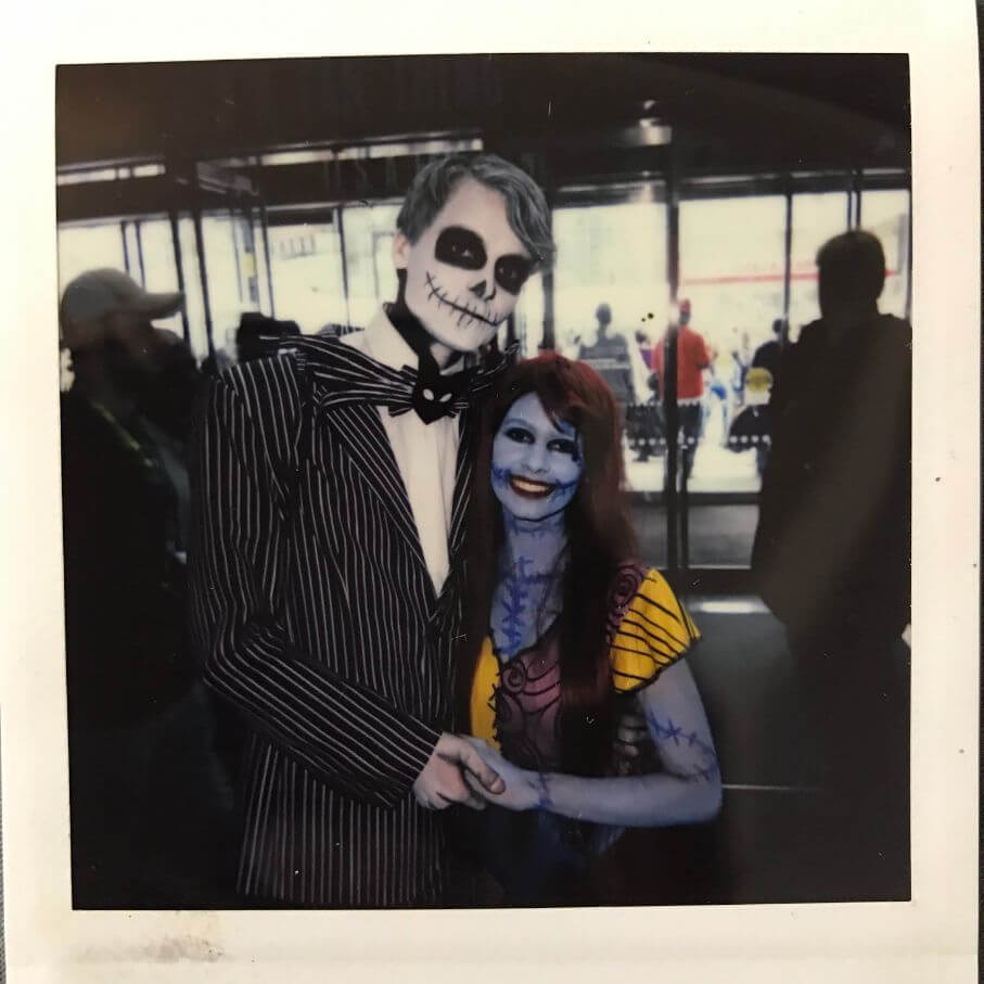 nightmare before christmas cosplay at comic con 2018 in nyc