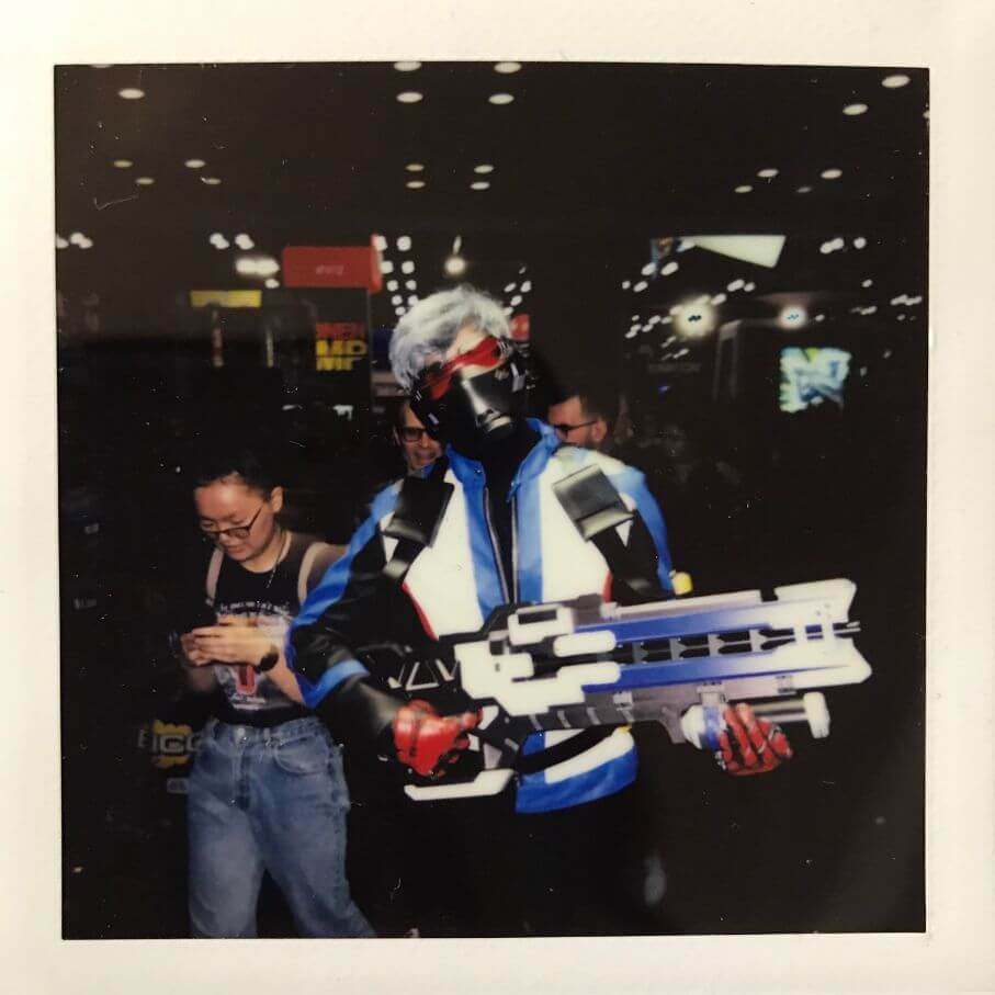 soldier 76 cosplay at 2018 comic con in nyc