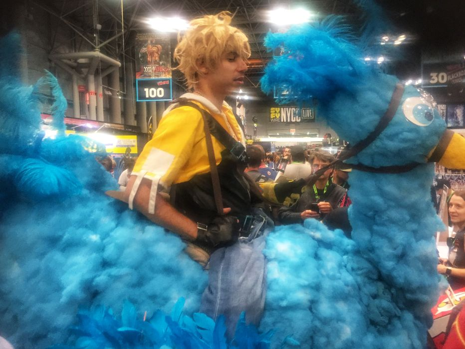 tidus cosplay at comic con 2018 nyc