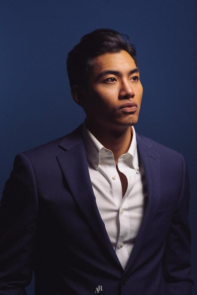 asian male model business headshot