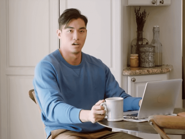 bag balm commercial with jasper yao