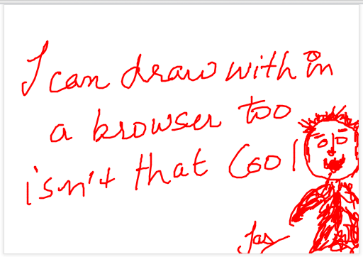 simple html5  canvas sketchpad example