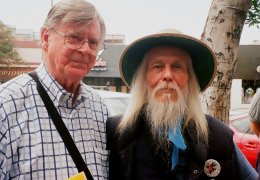 """Earl Hamner (born on July 10, 1923) and George Clayton Johnson (born on July 10, 1929), a pair of literary legends who wrote classic episodes of Rod Serling's original TWILIGHT ZONE series (Earl's """"The Hunt,"""" """"Stopover in a Quiet Town"""" and """"Jess-Belle"""" and George's """"Kick the Can,"""" """"Nothing in the Dark"""" and """"A Game of Pool"""""""