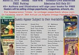 Los Angeles Vintage Paperback Show – March 22, 2015