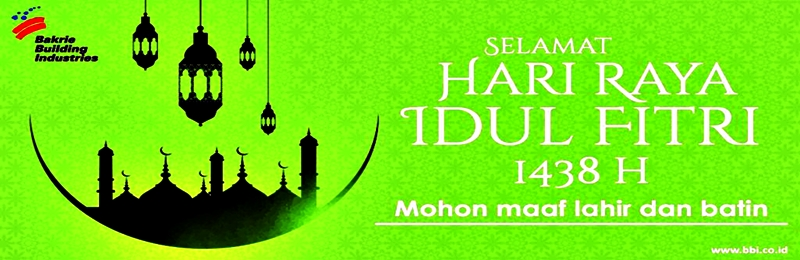Idul Fitri Banner