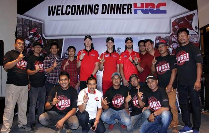 Astra Motor Jateng Ajak Dinner HRC Rider