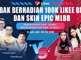 Likee dan Mobile Legends: Bang Bang Berkolaborasi Gelar Serangkaian Kompetisi