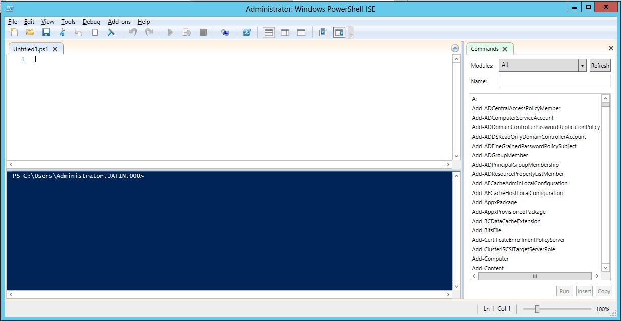 PowerShell Archives - Jatin Patel - Microsoft Dynamics NAV