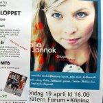 Affisch för konsert med Sofia Jannok