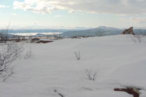 På toppen av Alep Nabrretjåhkkå