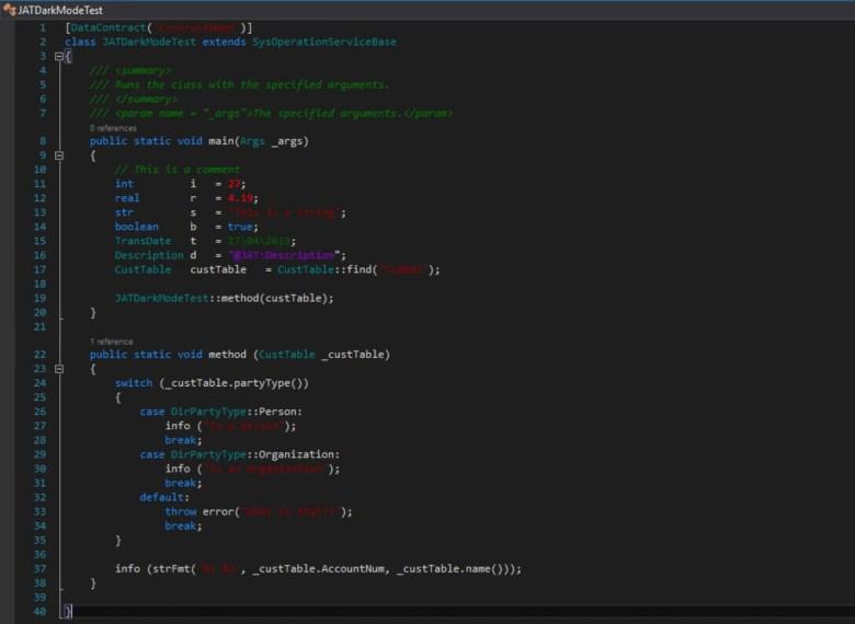 Modo Oscuro Visual Studio
