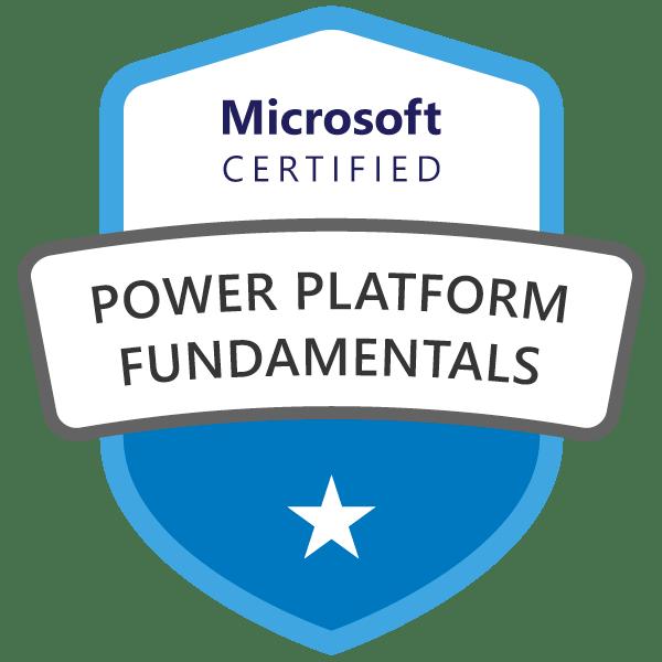 Microsoft Certified Power Platform Fundamentals