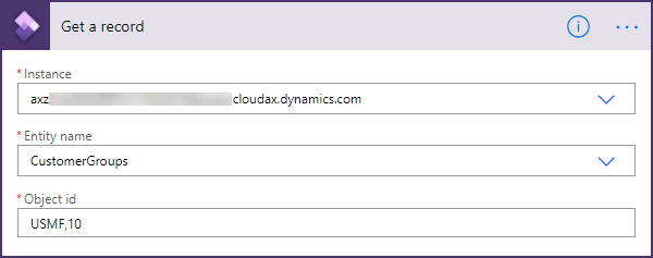 Power Automate - Obtener registro de grupos de clientes