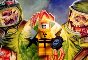 The Lego thrash metal minifigures are really start