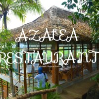 AZALEA RESTAURANT:Where everything is refreshing from the FOOD to the stunning VISTA.