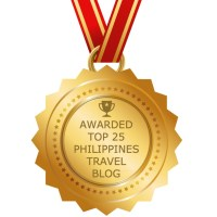 Top 25 Philippines Travel Blog: Apparently, I'm on the list.