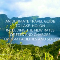 An ultimate TRAVEL GUIDE to LAKE  HOLON including the new RATES of FEES and CHARGES.