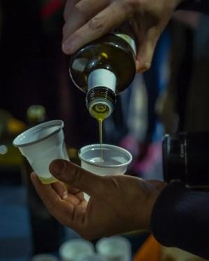 Egitânia olive oil tasting