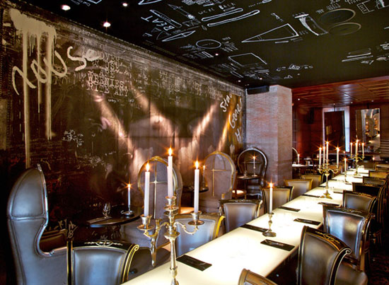 Hip Madrid Restaurants Ramses Starck Madrid Spain