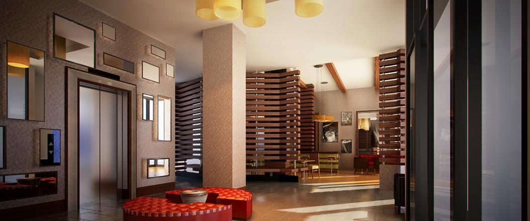 Fashion 26 hotel lobby